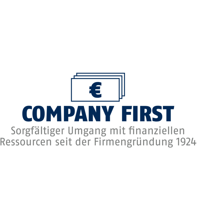 Company first
