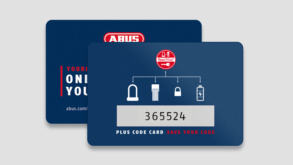 The code card ©ABUS